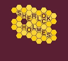A Study In Honeycomb Womens Fitted T-Shirt