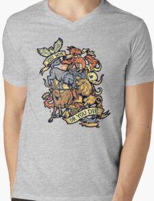 Win or Die Mens V-Neck T-Shirt