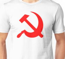 Hammer and Sickle - Communist Symbol  Unisex T-Shirt