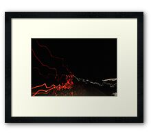 Road abstract 1 Framed Print
