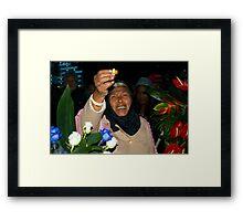 I'll always miss you, my son.... Framed Print