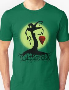 Heart Skull Tree Unisex T-Shirt