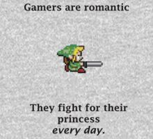 Gamers are romantic by valelanz94