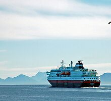 Hurtigruten - Harstad - Norway by Arie Koene