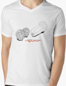 SQUASH ~  Mens V-Neck T-Shirt