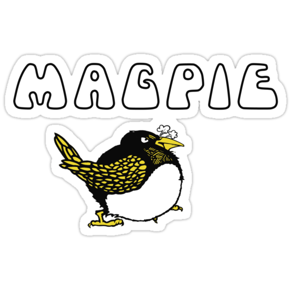 """One for sorrow, two for joy..."" - Magpie! by tvcream"