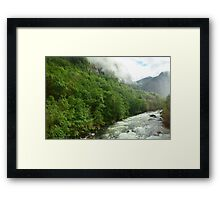 Water Path Framed Print