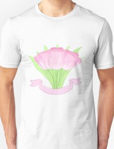 hand drawing tulips Unisex T-Shirt