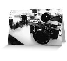Leica M3 SS - Elmarit-M 21mm Greeting Card