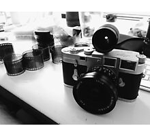 Leica M3 SS - Elmarit-M 21mm Photographic Print