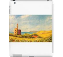 Wheal Friendly engine house iPad Case/Skin