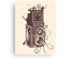 Retro Rolleiflex - Evolution of Photography - Vintage #2 Canvas Print