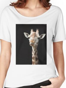 Cheeky Giraffe Women's Relaxed Fit T-Shirt