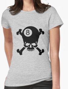 Billiards on the Brain Womens Fitted T-Shirt