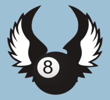 8 Ball with Wings by shakeoutfitters