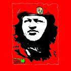 Hugo Chavez ipad case by MURRAY BROUGH