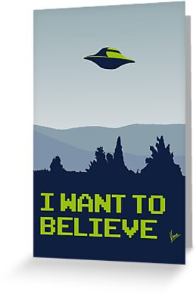 My X-files: I want to believe poster by Chungkong
