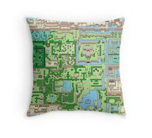 The map of all adventures Throw Pillow