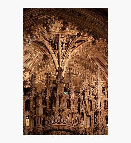 Ely Cathedral stonework Photographic Print