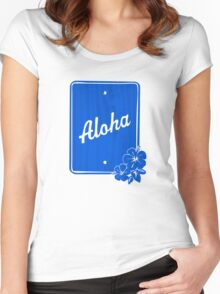 Aloha From Hawaii Women's Fitted Scoop T-Shirt