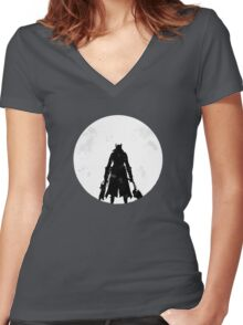 The Sky & Cosmos are One Women's Fitted V-Neck T-Shirt
