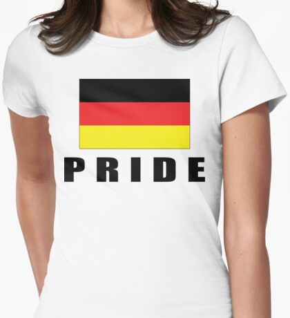 German Pride Womens Fitted T-Shirt