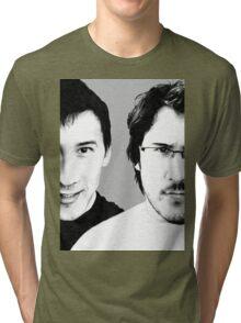 3 years of Markiplier Tri-blend T-Shirt
