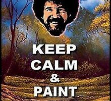 Bob Ross Keep Calm Meme by 8Train