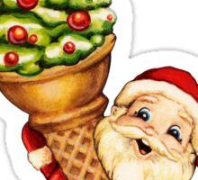Christmas Cone Sticker