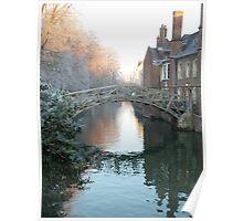 Mathematical Bridge, Cambridge Poster