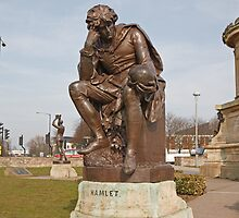 Hamlet In Stratford  upon- Avon by Keith Larby