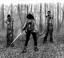 Walking Dead - Season Finale by Casey Neal