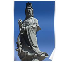 """Female Buddha """"Quan Yin"""" Poster"""