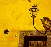 Lamp & Door/Wall-Yellow  by Tamarra