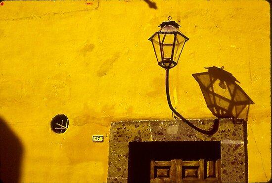Lamp & Door/Wall-Yellow  by Tamarra