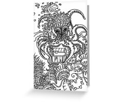 OctoTreasure Greeting Card