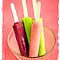 Summer Time Fun Colorful Popsicles by Edward Fielding