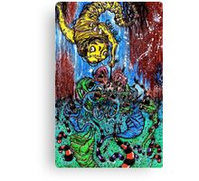 Feed The Children Canvas Print