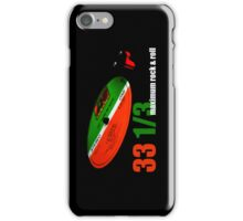 Vinyl - 33 1/3 Maximum Rock & Roll iPhone Case/Skin