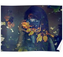 Autumn photographer. Poster