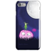 Green guy and the furries iPhone Case/Skin
