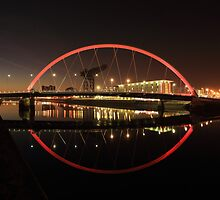 Glasgow Clyde Arc Bridge by Photo Scotland