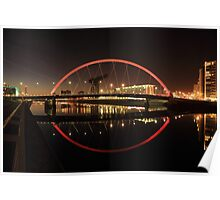 Glasgow Clyde Arc Bridge Poster