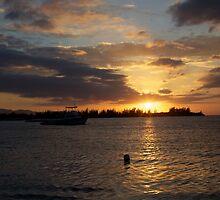 Sunset Jamaica by NickiBreeze