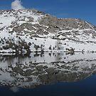 Lake Enol reflection by ClaireWroe