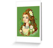 Lady Lake Greeting Card