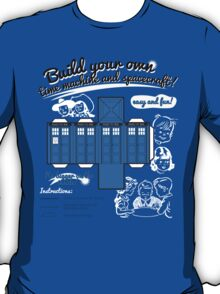 Build your own time machine and spacecraft! T-Shirt