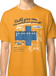 Build your own time machine and spacecraft! Classic T-Shirt