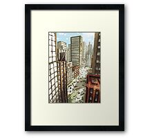 The big silence Framed Print