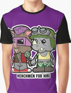 Lil Rocksteady and Bebop Graphic T-Shirt
